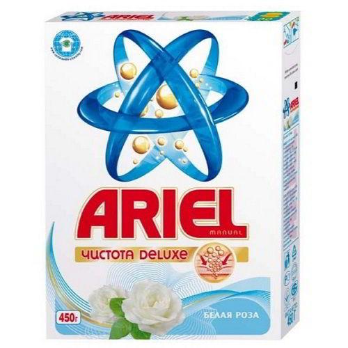 стиральный порошок ARIEL Белая роза 450 гр для ручной стирки