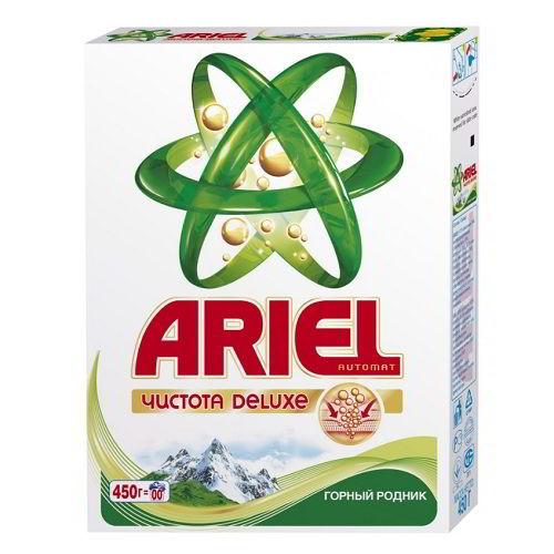 стиральный порошок ARIEL Горный родник 450 гр