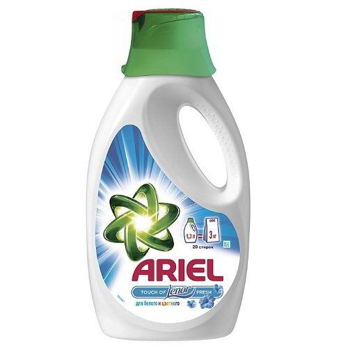 Жидкий стиральный порошок Ариэль Ленор эффект
