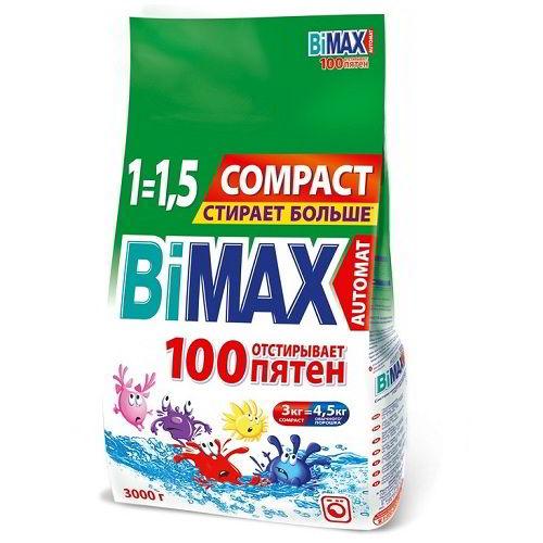 Стиральный порошок BiMax 100 пятен 3000 гр