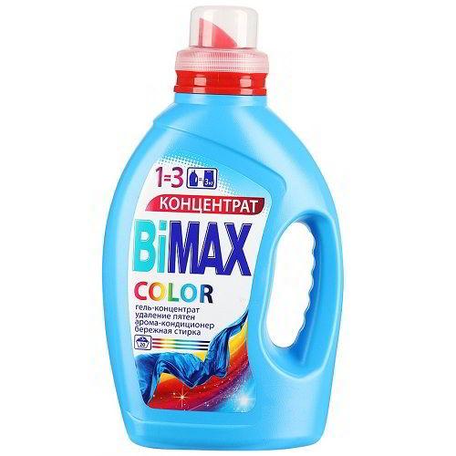 жидкий стиральный порошок BiMax 1500 мл для цветного белья