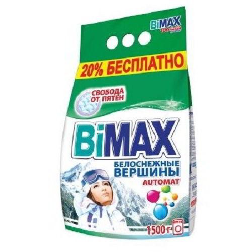 Стиральный порошок BiMax Белоснежные вершины 1500 гр