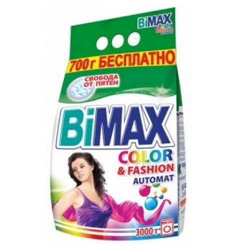 Стиральный порошок BiMax Color & Fashion 3000 гр