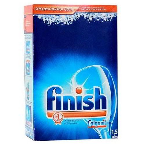 Calgonit Finish соль для посудомоечных машин 1500 гр