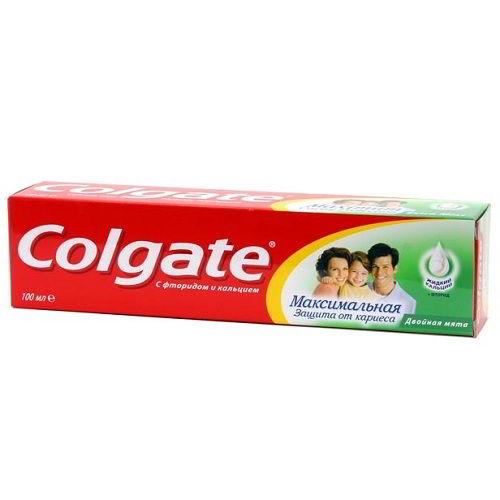 Зубная паста Colgate Защита от кариеса Двойная мята 100 мл