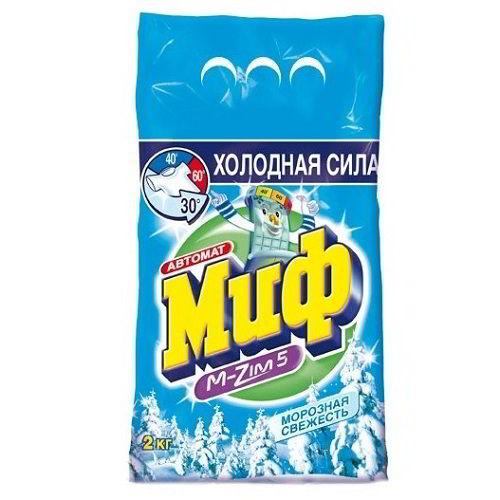 Стиральный порошок МИФ Морозная свежесть 2 кг