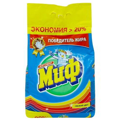 Стиральный порошок МИФ Свежий цвет (Color) 2000 гр