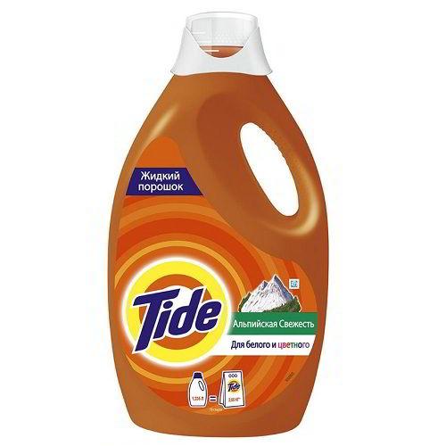 Жидкий стиральный порошок Tide Альпийская свежесть 1,235 л