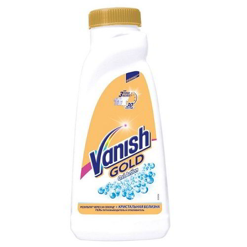 Пятновыводитель Vanish Gold Oxi Action для белого 450 мл