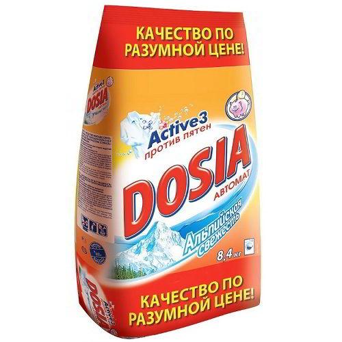 Стиральный порошок Dosia Альпийская свежесть 8,4 кг
