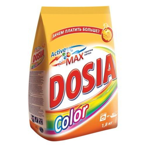 Стиральный порошок Dosia Color 1,8 кг