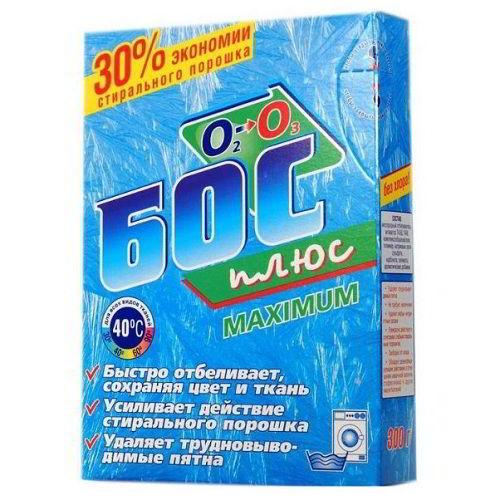 Отбеливающий порошок БОС-плюс Maximum 300 г