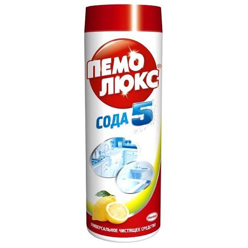 Чистящее средство Пемолюкс СОДА 5 эффект Лимон 480 г