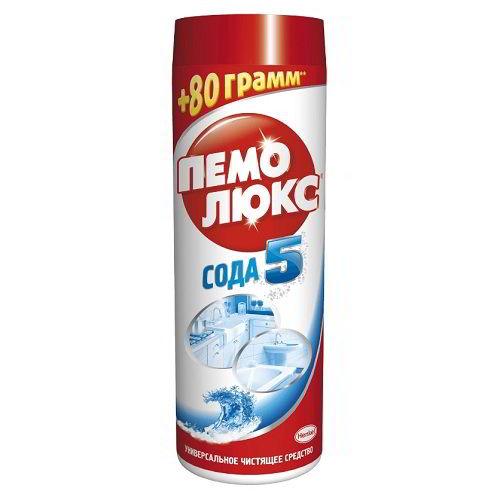 Чистящее средство Пемолюкс СОДА 5 эффект Морской бриз 480 г