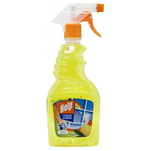 Чистящее средство для стекол Хелп Лимон 500 мл