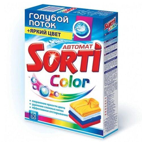 Стиральный порошок Sorti Color автомат 350 г