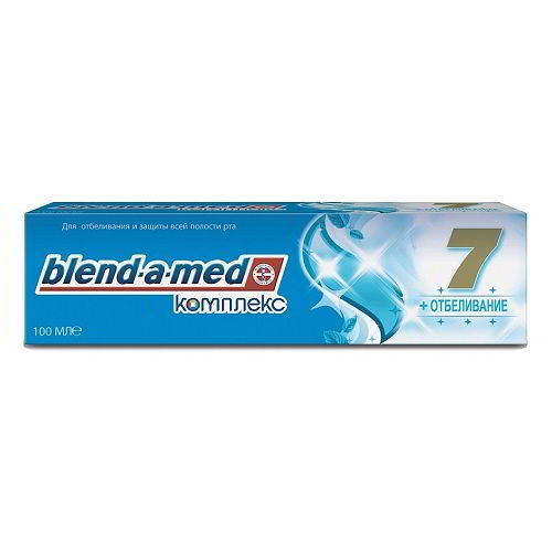 Зубная паста Blend-a-med 7 комплекс + отбеливание 100 мл
