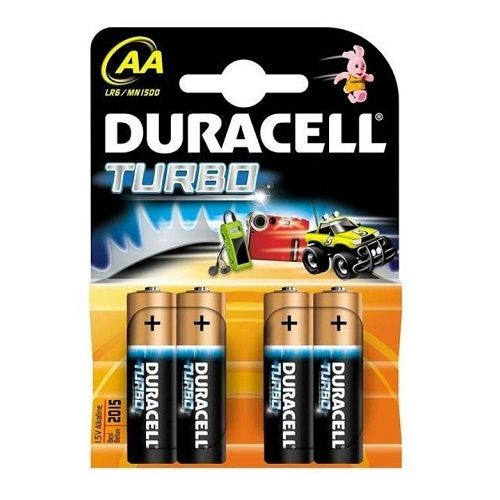 Батарейки Duracell TURBO АА 4 штуки