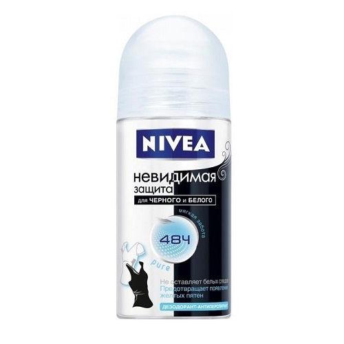 Дезодорант-ролик Nivea Pure Black & White Clear 50 мл