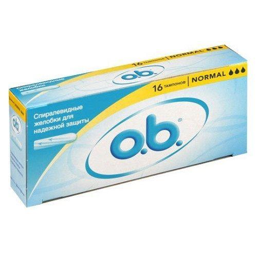 Тампоны o.b. Normal 16 штук