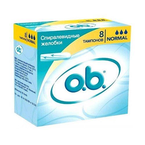 Тампоны o.b. Normal 8 штук