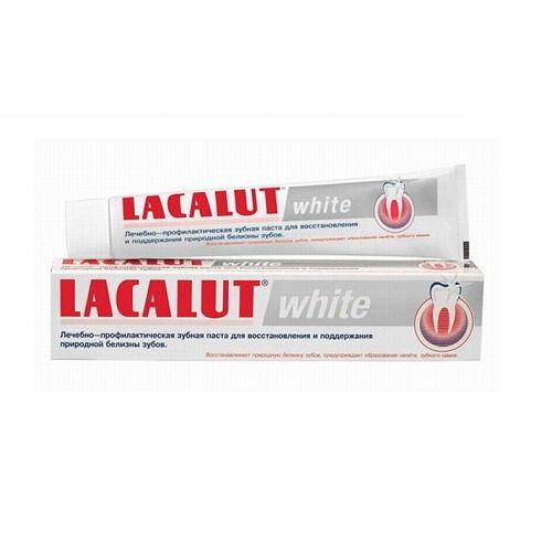 Зубная паста Lacalut White Для поддержки белизны зубов 75 мл