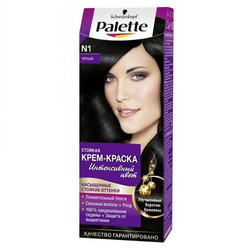 Краска для волос Palette Черный №1 110 мл