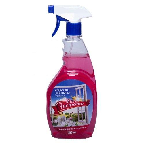 Средство для мытья стекол «Мисс Чистота» Цветы весны 750 мл
