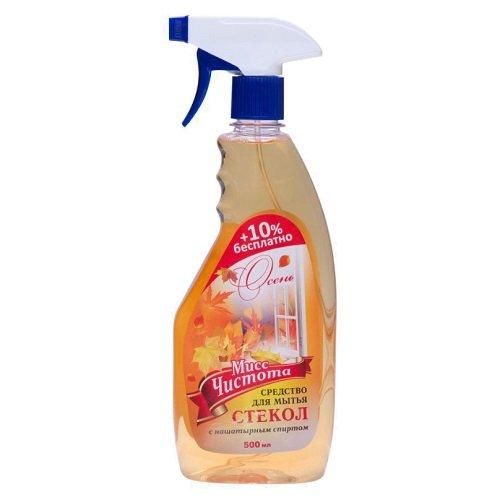 Средство для мытья стекол «Мисс Чистота» Осень 500 мл