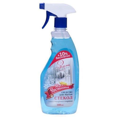 Средство для мытья стекол «Мисс Чистота» Зима 500 мл