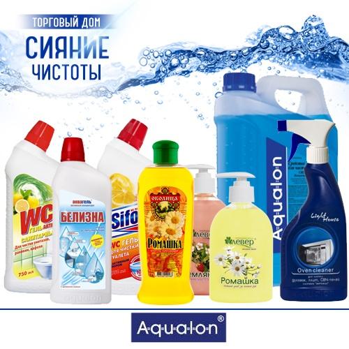 Бытовая химия производителя «Аквалон» оптом