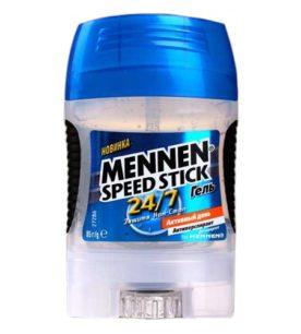Дезодорант гелевый Mennen Speed stick Активный день 85 г