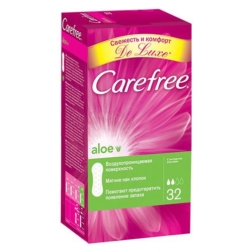 Ежедневные прокладки Carefree Алоэ 30 шт