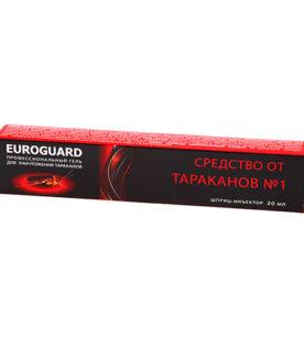 Гель шприц EUROGARD От тараканов 20 мл