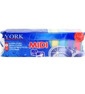 Губка для посуды York MIDI 10 шт