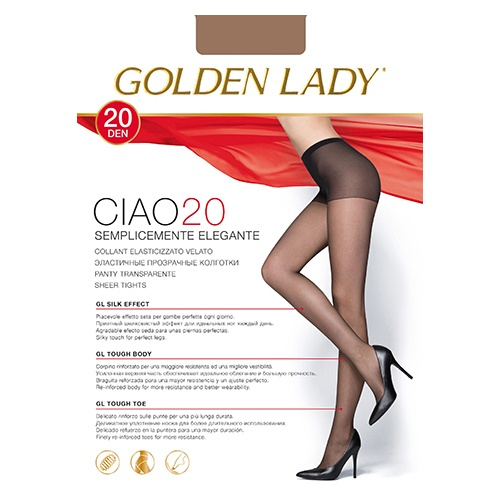 Колготки GOLDEN LADY Ciao 40 DEN daino 3M 1 шт
