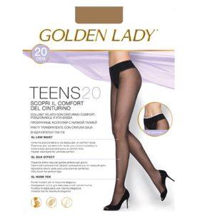 Колготки GOLDEN LADY Teens 20 DEN Melon 3M 1 шт