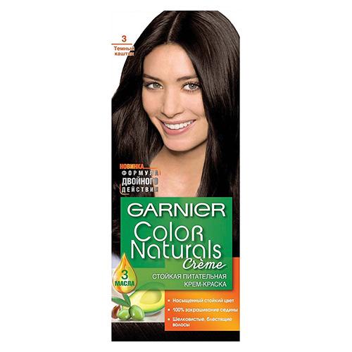 Краска для волос Color Naturals Темный каштан (3) 110 мл
