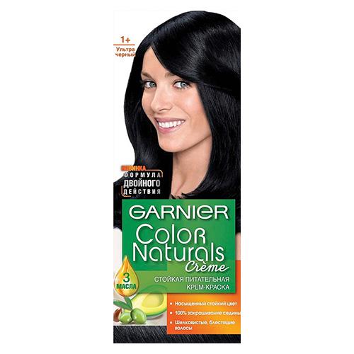 Краска для волос Color Naturals Ультра черный (1+) 110 мл