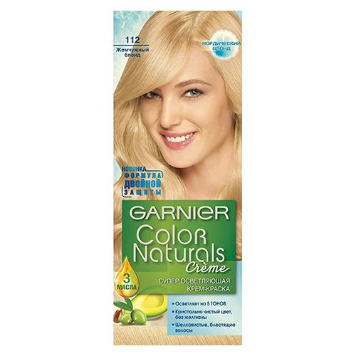 Краска для волос Color Naturals Жемчужный блонд (112) 110 мл