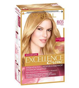 Краска для волос Excellence Пленительный Блонд (8