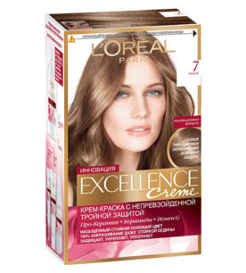 Краска для волос Excellence Русый (7) 270 мл