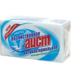 Мыло хозяйственное Аист Антибактериальное 200 г