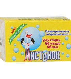 Мыло хозяйственное Аистенок Для детского белья 200 г