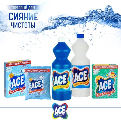 Отбеливатель, пятновыводитель ACE оптом