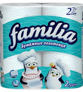 Полотенца Familia Plus 2 шт