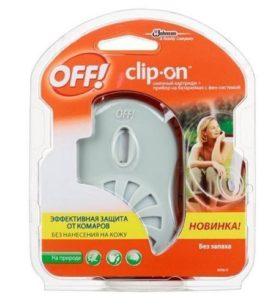 Прибор с фен-системой и сменным картриджем OFF Clip-On 1 шт