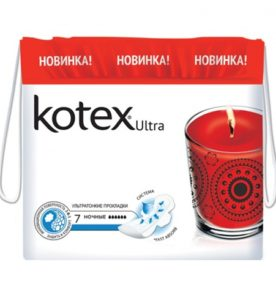 Прокладки Kotex Ultra Dry&Soft Night 7 шт