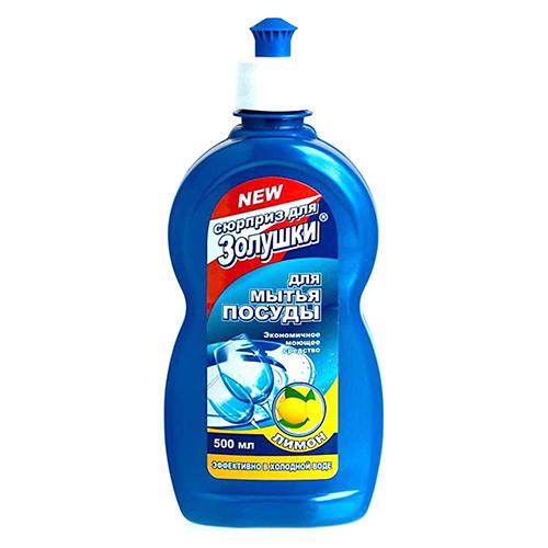 Средство для мытья посуды Золушка Лимон 500 мл