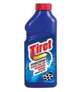 Средство для удаления засоров Tiret Professional 500 мл